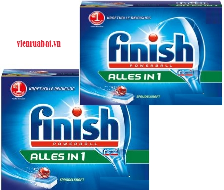 viên rửa bát finish all in 1